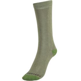 Craghoppers NosiLife Travel Socks Twin Pack Kinder dark khaki/spiced lime plain & stripe